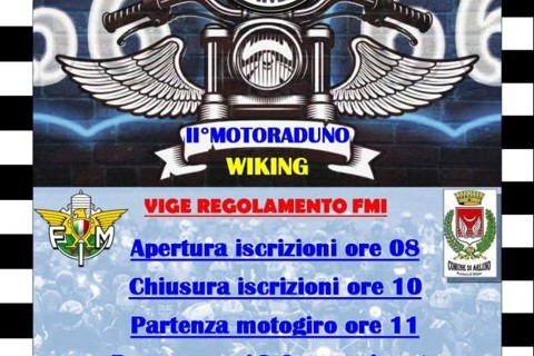 11 LUGLIO ARLUNO II MOTORADUNO WIKING